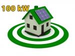 """Сонячна електростанція 100 кВт під """"Зелений тариф"""""""