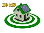 """Сонячна електростанція 20 кВт під """"Зелений тариф"""""""