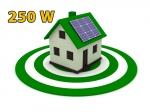 """Сонячна електростанція 250Вт під """"Зелений тариф"""""""