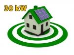 """Сонячна електростанція 30 кВт під """"Зелений тариф"""""""