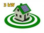 """Сонячна електростанція 3 кВт під """"Зелений тариф"""""""