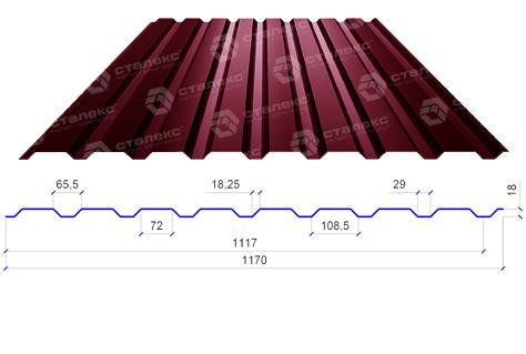 Профнастил для крыши: просто и практично
