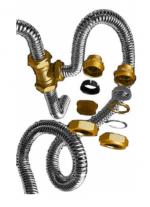 Гнучкий гофрований трубопровід гофра флекс